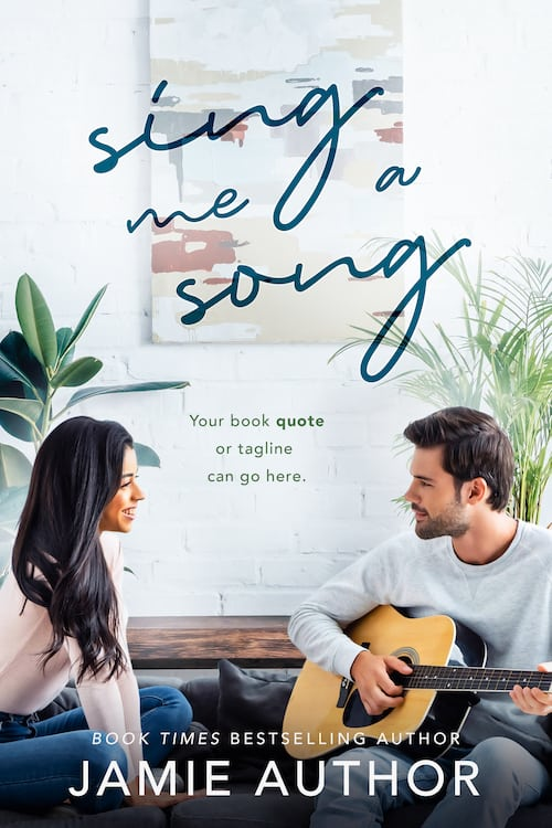 Contemporary Romance Premade Cover titled Full Benefits made by Romance Cover Designs